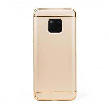Луксозен кейс/калъф от 3 части за Huawei Mate 20 Pro, Case, Твърд, Златист