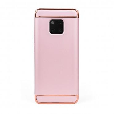 Луксозен кейс/калъф от 3 части за Huawei Mate 20 Pro, Case, Твърд, Розово злато