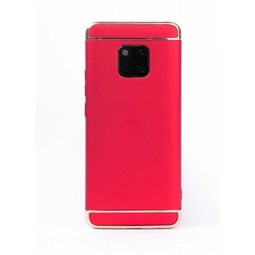 Луксозен кейс/калъф от 3 части за Huawei Mate 20 Pro, Case, Твърд, Червен