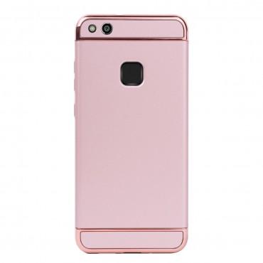Луксозен кейс/калъф от 3 части за Huawei P10 Lite, Case, Твърд, Розово злато