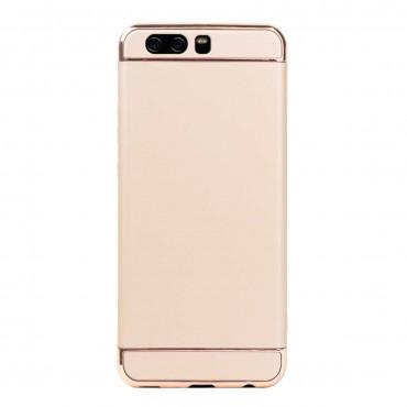Луксозен кейс/калъф от 3 части за Huawei P10 Plus, Case, Твърд, Златист
