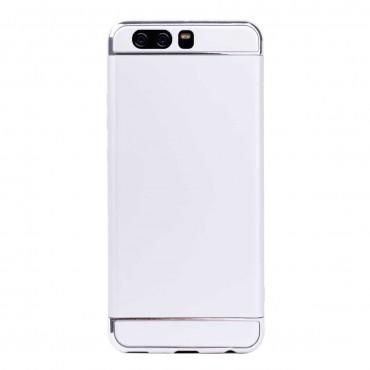 Луксозен кейс/калъф от 3 части за Huawei P10 Plus, Case, Твърд, Сребрист