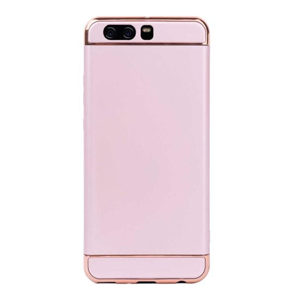 Луксозен кейс/калъф от 3 части за Huawei P10 Plus, Case, Твърд, Розово злато