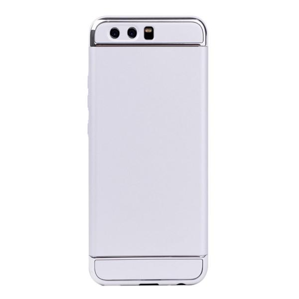 Луксозен кейс/калъф от 3 части за Huawei P10, Case, Твърд, Сребрист