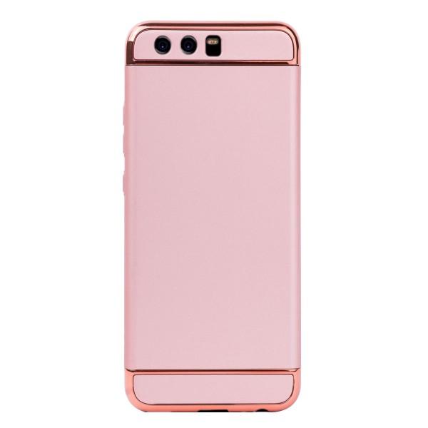 Луксозен кейс/калъф от 3 части за Huawei P10, Case, Твърд, Розово злато