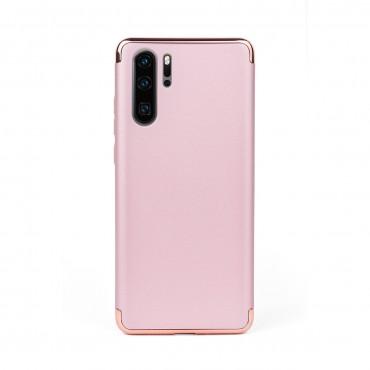 Луксозен кейс/калъф от 3 части за Huawei P30 Pro, Case, Твърд, Розово злато