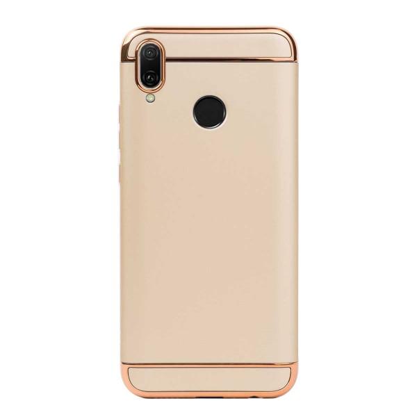 Луксозен кейс/калъф от 3 части за Huawei Y9 (2019), Case, Твърд, Златист