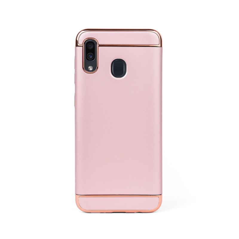 Луксозен кейс/калъф от 3 части за Samsung Galaxy A30, Case, Твърд, Розово злато