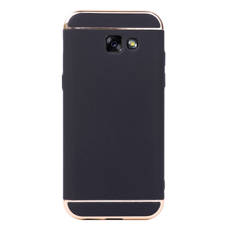 Луксозен кейс/калъф от 3 части за Samsung Galaxy A5 (2017), Case, Твърд, Черен
