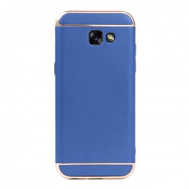 Луксозен кейс/калъф от 3 части за Samsung Galaxy A5 (2017), Case, Твърд, Син