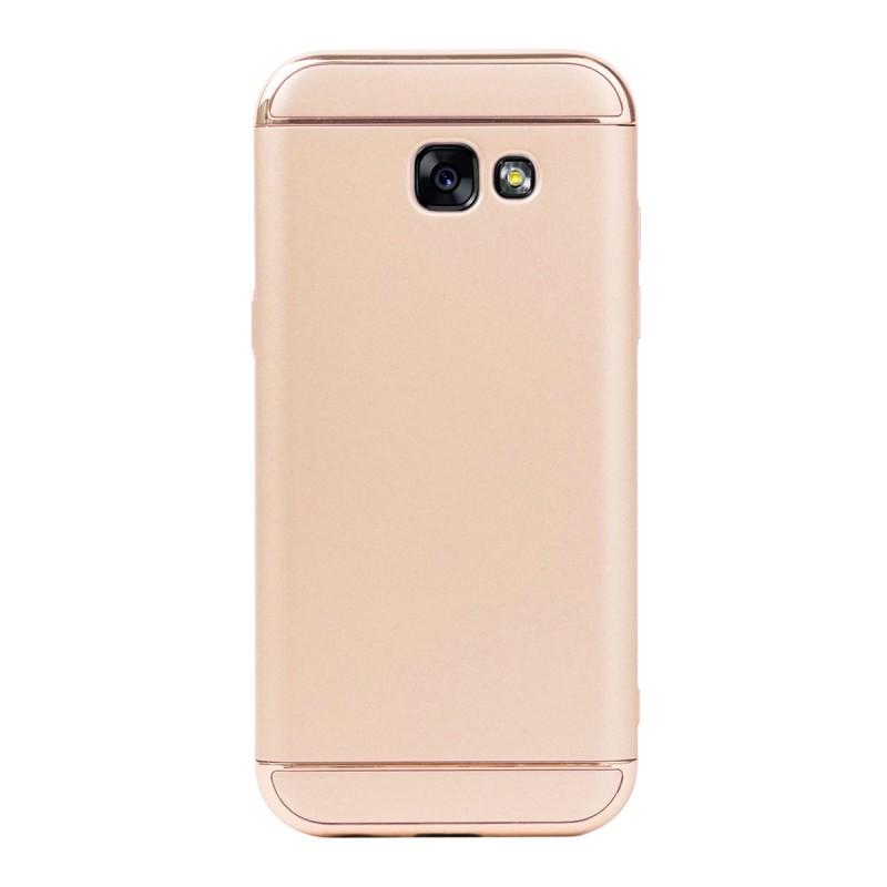 Луксозен кейс/калъф от 3 части за Samsung Galaxy A5 (2017), Case, Твърд, Златист