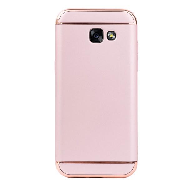 Луксозен кейс/калъф от 3 части за Samsung Galaxy A5 (2017), Case, Твърд, Розово злато