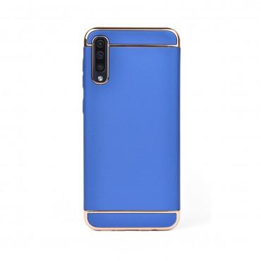 Луксозен кейс/калъф от 3 части за Samsung Galaxy A30s, Case, Твърд, Син