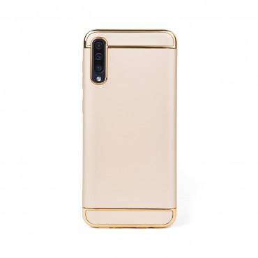 Луксозен кейс/калъф от 3 части за Samsung Galaxy A30s, Case, Твърд, Златист