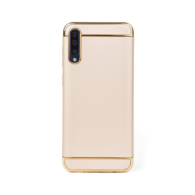 Луксозен кейс/калъф от 3 части за Samsung Galaxy A50, Case, Твърд, Златист