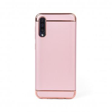 Луксозен кейс/калъф от 3 части за Samsung Galaxy A50, Case, Твърд, Розово злато