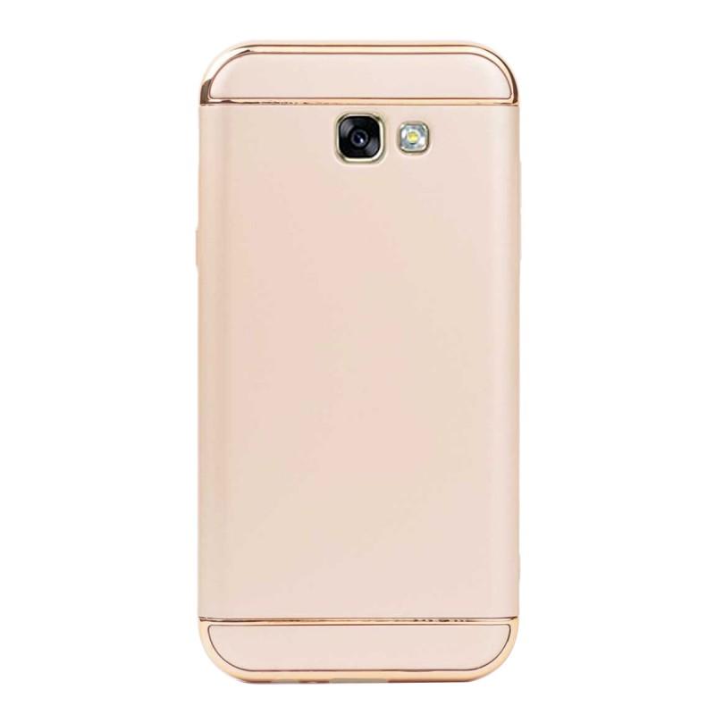 Луксозен кейс/калъф от 3 части за Samsung Galaxy A7 (2017), Case, Твърд, Златист