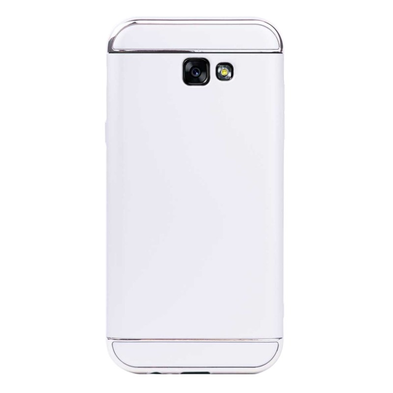 Луксозен кейс/калъф от 3 части за Samsung Galaxy A7 (2017), Case, Твърд, Сребрист