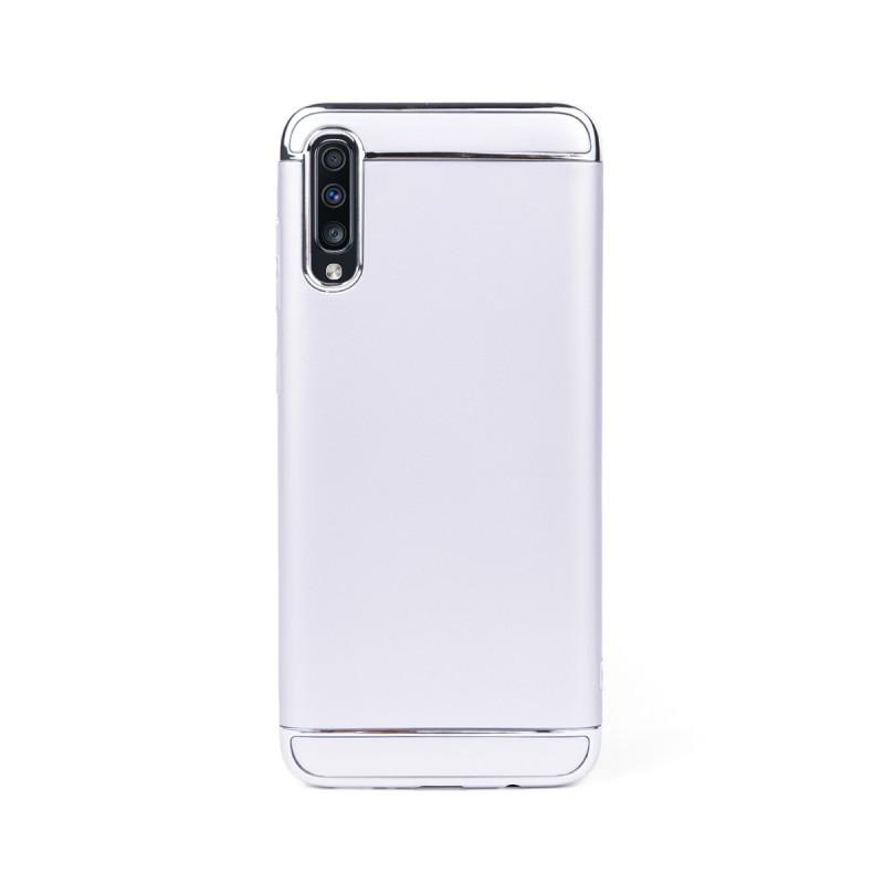 Луксозен кейс/калъф от 3 части за Samsung Galaxy A70, Case, Твърд, Сребрист