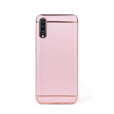Луксозен кейс/калъф от 3 части за Samsung Galaxy A70, Case, Твърд, Розово злато