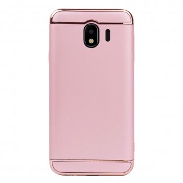 Луксозен кейс/калъф от 3 части за Samsung Galaxy J4 (2018), Case, Твърд, Розово злато