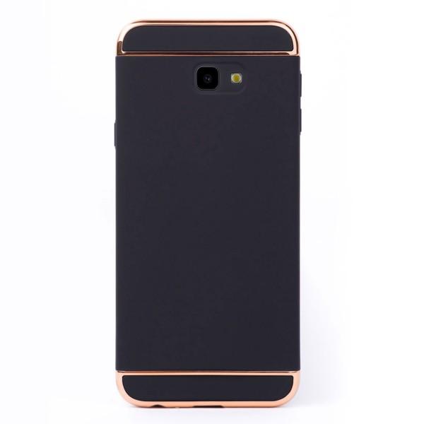 Луксозен кейс/калъф от 3 части за Samsung Galaxy J4 Plus (2018), Case, Твърд, Черен