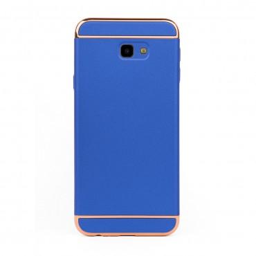 Луксозен кейс/калъф от 3 части за Samsung Galaxy J4 Plus (2018), Case, Твърд, Син