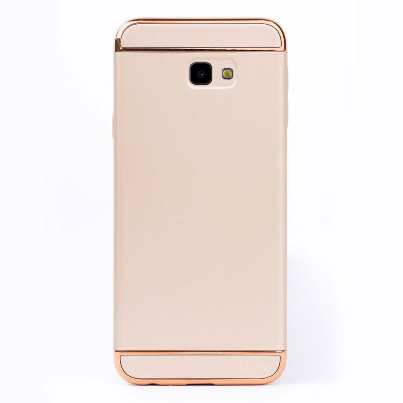 Луксозен кейс/калъф от 3 части за Samsung Galaxy J4 Plus (2018), Case, Твърд, Златист