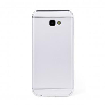 Луксозен кейс/калъф от 3 части за Samsung Galaxy J4 Plus (2018), Case, Твърд, Сребрист