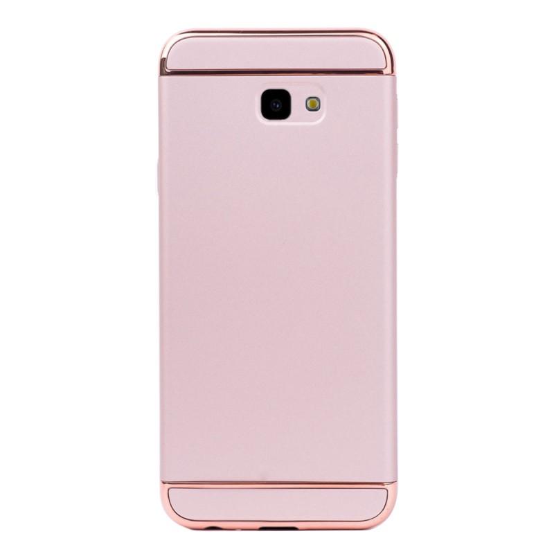 Луксозен кейс/калъф от 3 части за Samsung Galaxy J4 Plus (2018), Case, Твърд, Розово злато