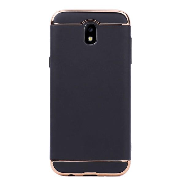 Луксозен кейс/калъф от 3 части за Samsung Galaxy J5 (2017), Case, Твърд, Черен