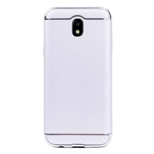 Луксозен кейс/калъф от 3 части за Samsung Galaxy J5 (2017), Case, Твърд, Сребрист