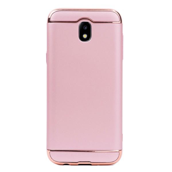 Луксозен кейс/калъф от 3 части за Samsung Galaxy J5 (2017), Case, Твърд, Розово злато
