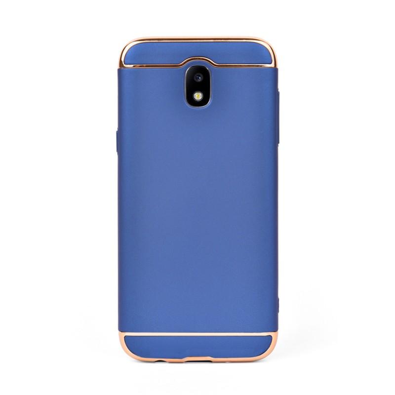 Луксозен кейс/калъф от 3 части за Samsung Galaxy J5 (2017), Case, Твърд, Син