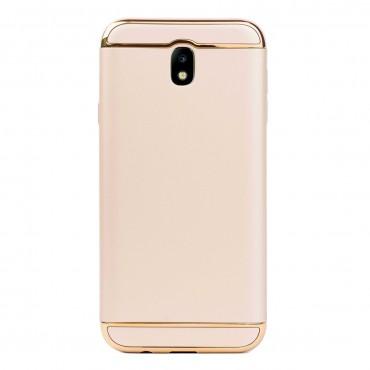 Луксозен кейс/калъф от 3 части за Samsung Galaxy J7 (2017), Case, Твърд, Златист