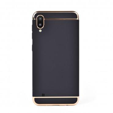 Луксозен кейс/калъф от 3 части за Samsung Galaxy M10, Case, Твърд, Черен