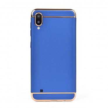 Луксозен кейс/калъф от 3 части за Samsung Galaxy M10, Case, Твърд, Син