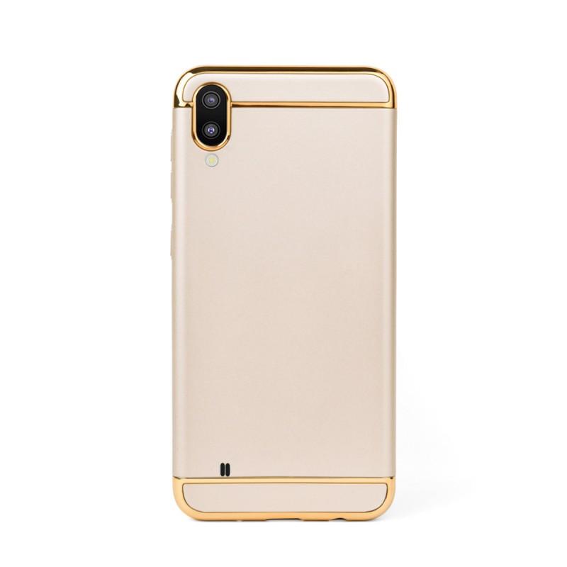 Луксозен кейс/калъф от 3 части за Samsung Galaxy M10, Case, Твърд, Златист