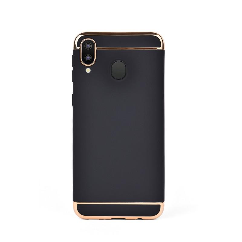Луксозен кейс/калъф от 3 части за Samsung Galaxy M20, Case, Твърд, Черен