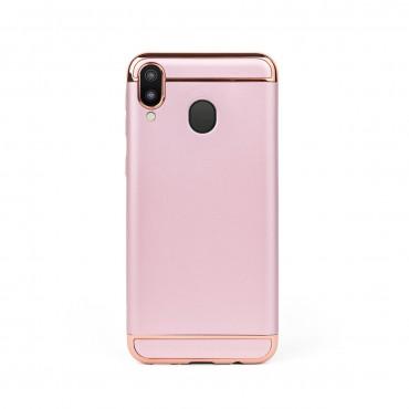 Луксозен кейс/калъф от 3 части за Samsung Galaxy M20, Case, Твърд, Розово злато