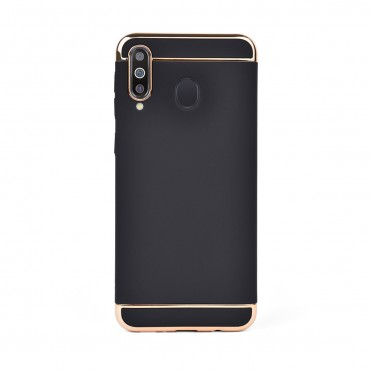 Луксозен кейс/калъф от 3 части за Samsung Galaxy M30, Case, Твърд, Черен