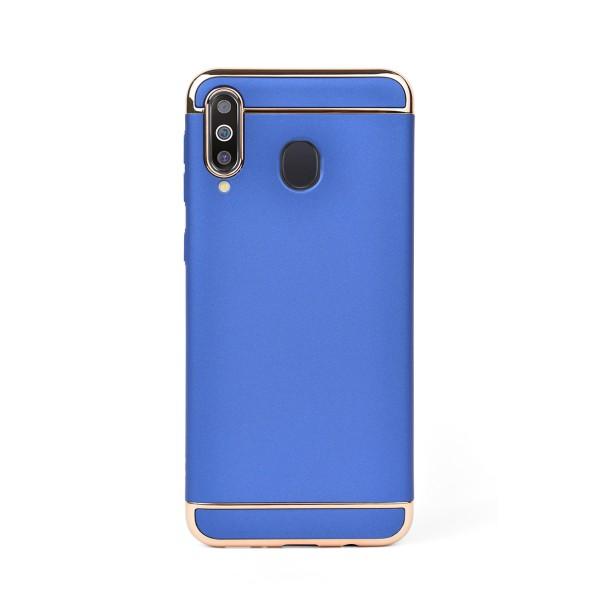 Луксозен кейс/калъф от 3 части за Samsung Galaxy M30, Case, Твърд, Син