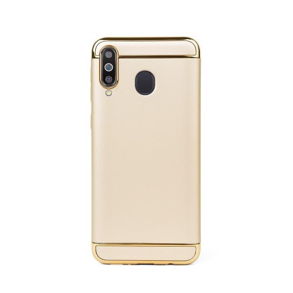 Луксозен кейс/калъф от 3 части за Samsung Galaxy M30, Case, Твърд, Златист