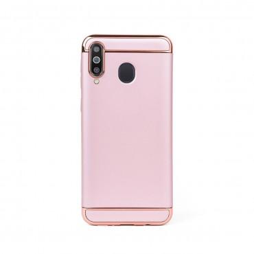Луксозен кейс/калъф от 3 части за Samsung Galaxy M30, Case, Твърд, Розово злато
