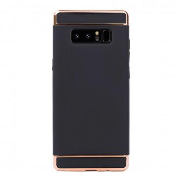 Луксозен кейс/калъф от 3 части за Samsung Galaxy Note 8, Case, Твърд, Черен