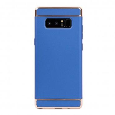 Луксозен кейс/калъф от 3 части за Samsung Galaxy Note 8, Case, Твърд, Син