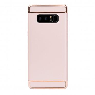 Луксозен кейс/калъф от 3 части за Samsung Galaxy Note 8, Case, Твърд, Златист