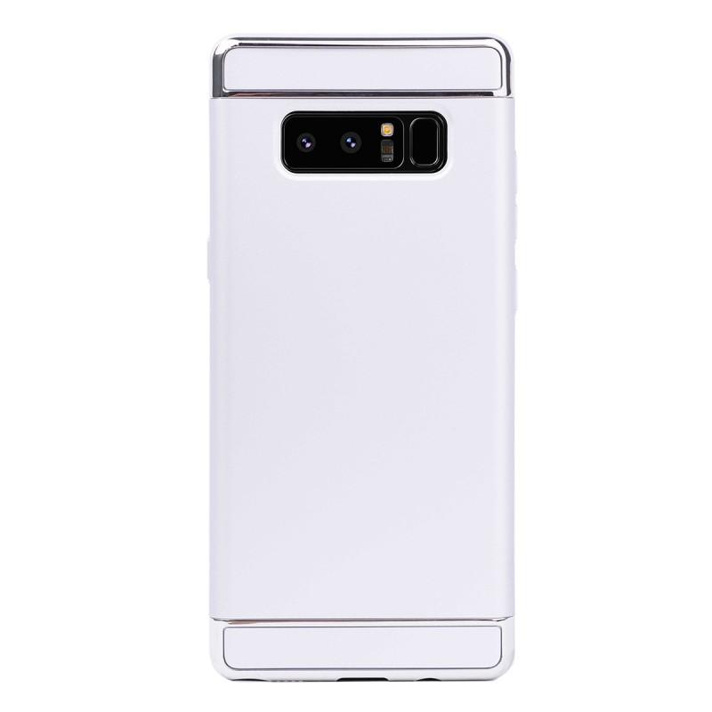 Луксозен кейс/калъф от 3 части за Samsung Galaxy Note 8, Case, Твърд, Сребрист