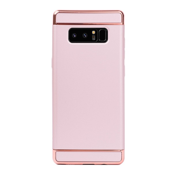 Луксозен кейс/калъф от 3 части за Samsung Galaxy Note 8, Case, Твърд, Розово злато