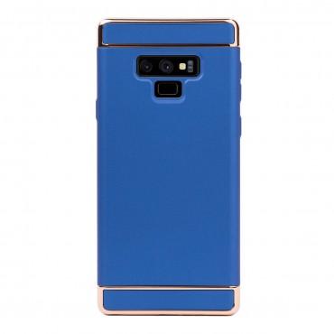 Луксозен кейс/калъф от 3 части за Samsung Galaxy Note 9, Case, Твърд, Син